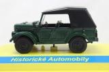 Kovový model GAZ 69A zelený 1:43