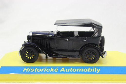 Kovový model GAZ A černý 1:43