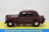 Kovový model Moskvič 400 červený 1:43