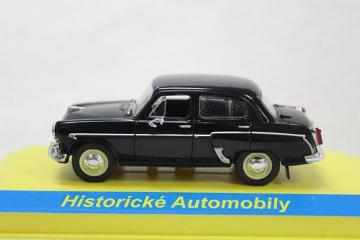 Kovový model Moskvič 407 černý 1:43