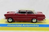 Kovový model Opel Rekord P2 červená 1:43