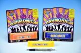 Harmonika plastová 13cm 3barvy