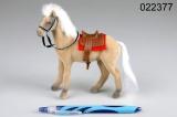 Kůň fliška malý krémový