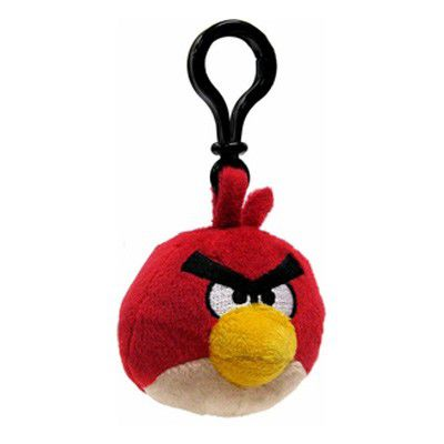 Angry Birds Backpack Clip - červený