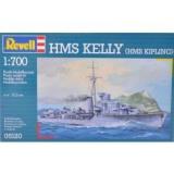 Revell Kel H.M.S.ly H.M.S Kipling 1:700