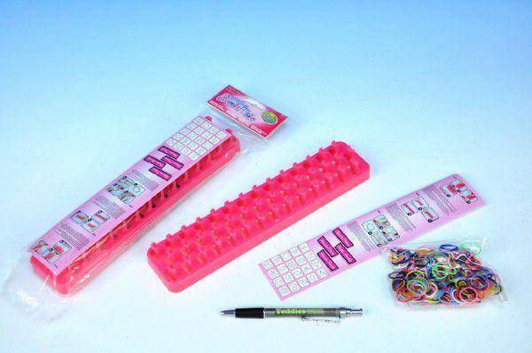 Udělej si náramek - stav na gumičky + 300 ks gumiček