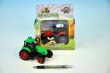 Traktor KOV 12cm setrvačník se světlem a zvukem