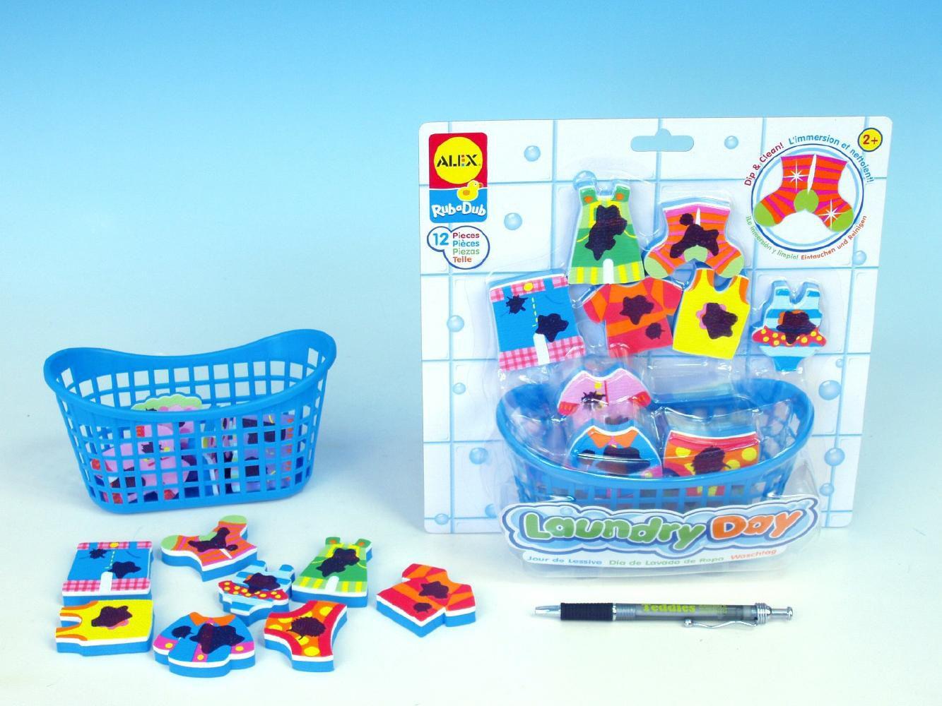 Alex hračky do vany - Vyper si prádlo
