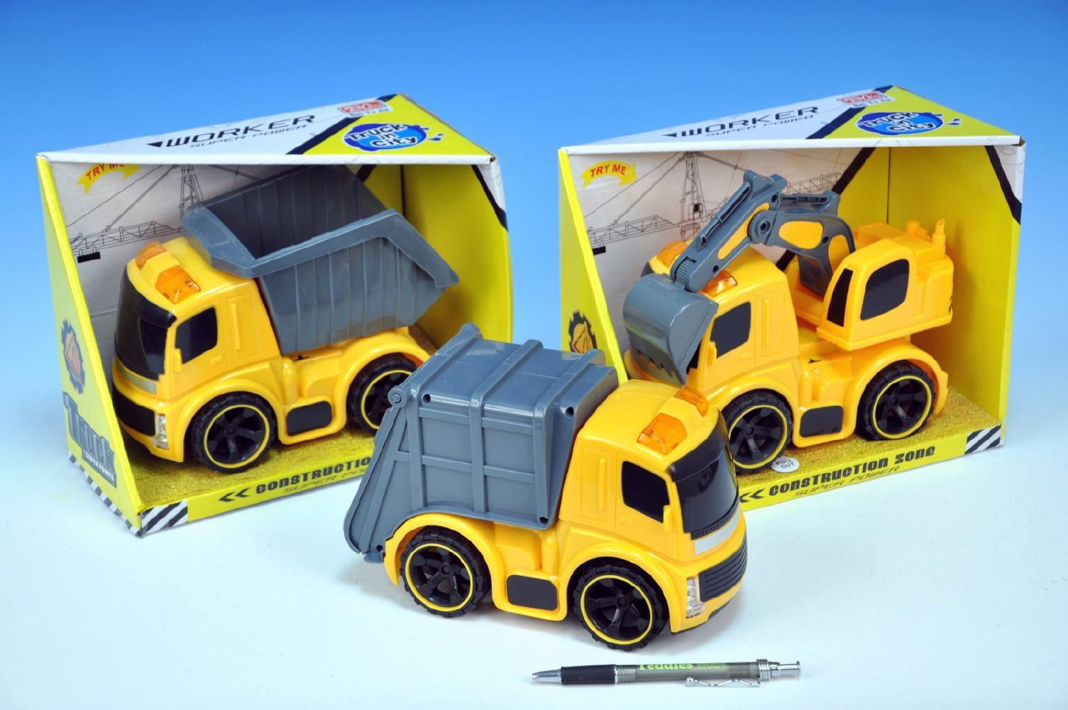 Auto stavební plast 22 cm