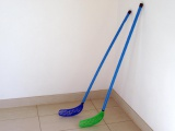 Floorbal hokejka 100x30x3cm