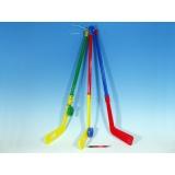Hokejka plastová 74cm s pukem