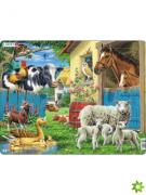 Zvířata na farmě 25dílků