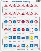 Puzzle Dopravní značky 48dílků