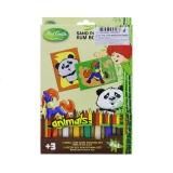 Pískování 2v1 panda a koník