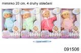 Miminko Cuddles Baby 20cm