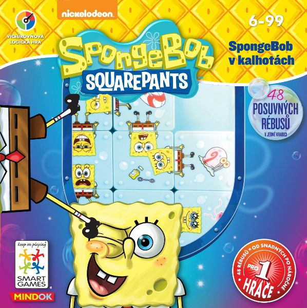 MINDOK SpongeBob v kalhotách (SpongeBob Squarepants)