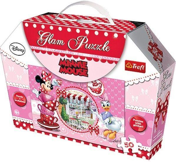 Puzzle Minnie Mouse 50 dílků