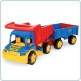 Auto Gigant truck + vlečka