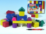 Kostky stavebnice plast 32ks
