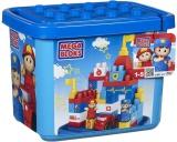 Mega Bloks Maxi Stavebnice v plastovém kbelíku Záchranné centrum