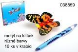Motýl na klíček