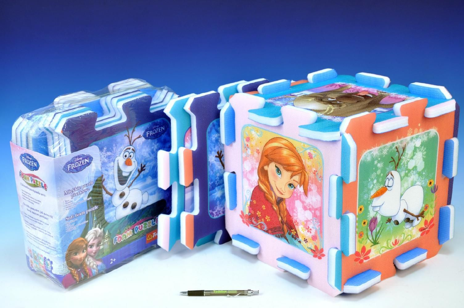 Pěnové puzzle Ledové království