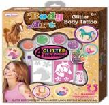 Glitter Body Tattoo Art