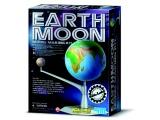 Pohyblivý model země a měsíce - svítí ve tmě