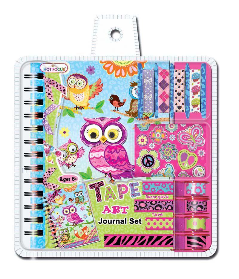 Umělecký deník - sovičky