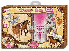 Velký set s diářem koně