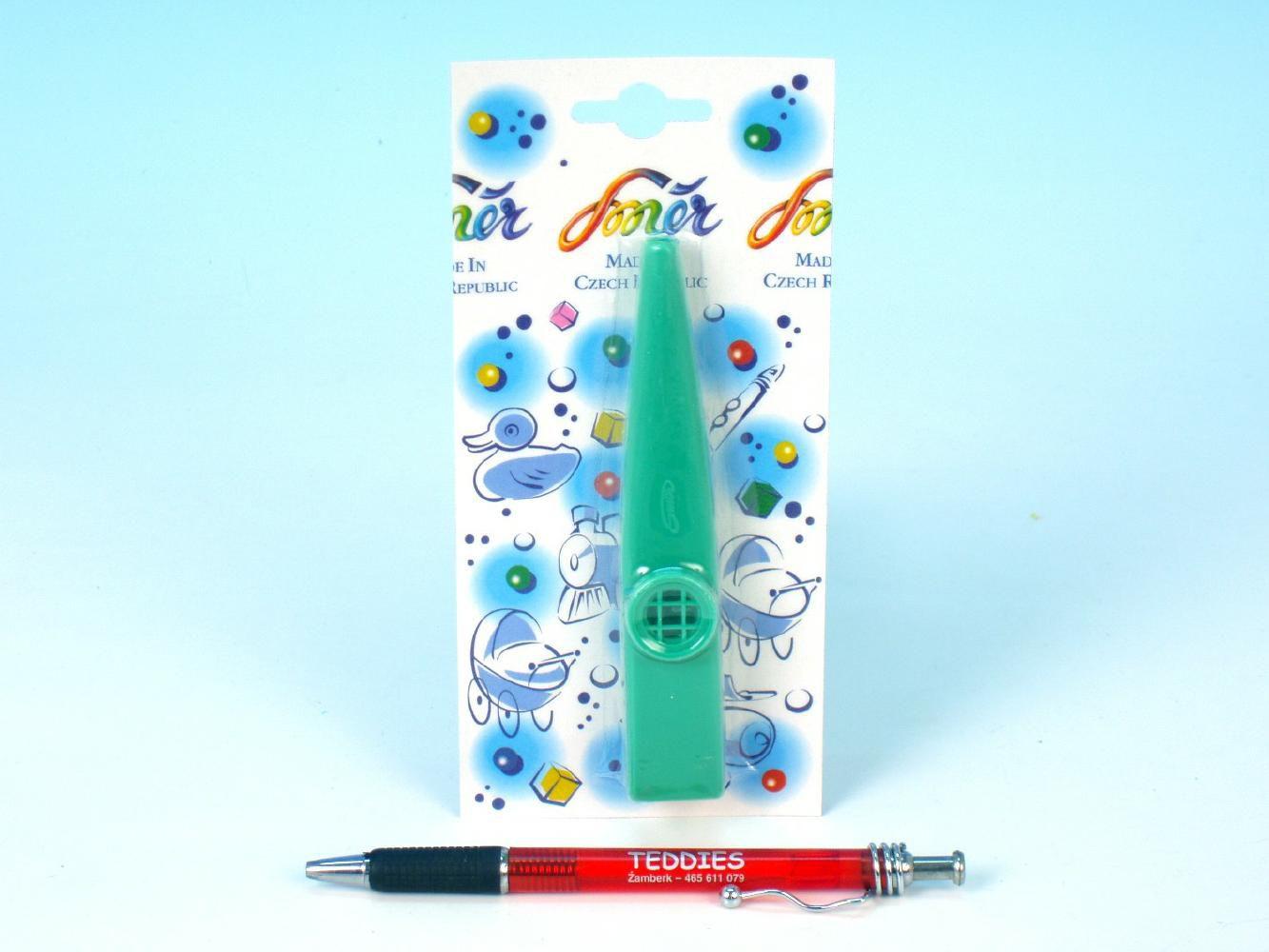 Kazoo plast 12 cm