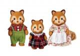 Sylvanian Families - Rodina - červené pandy
