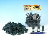 Vojáci sada plast 5cm v sáčku