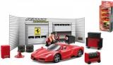Auto Bburago 10cm 3ks Ferrari