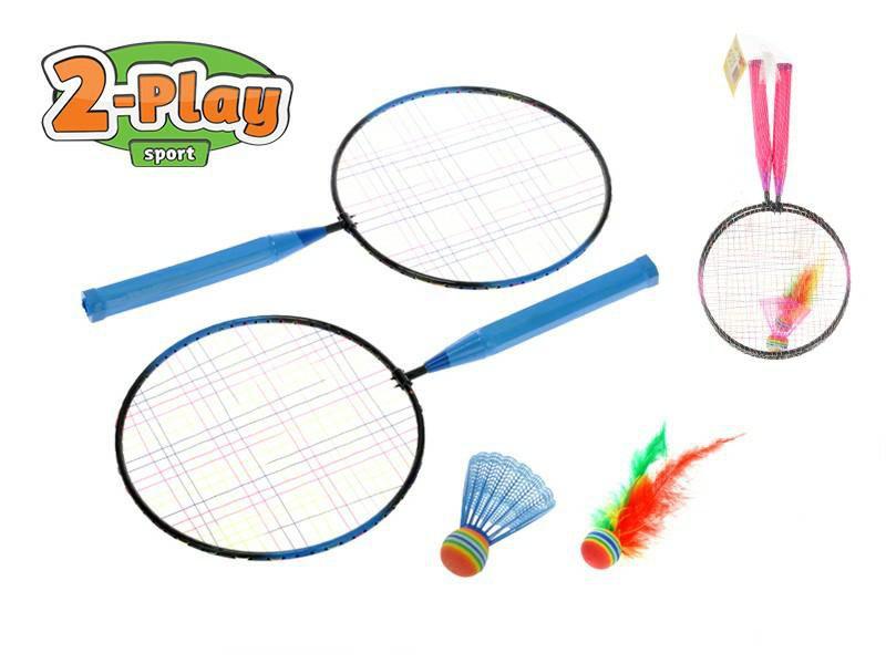 Badmintonové rakety 44x22cm
