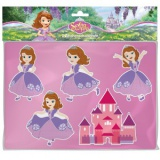 Disney Sofie kreslící šablony