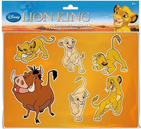 Disney Lví král šablony