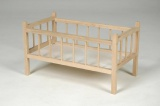 Postýlka dřevo 54x34x29cm v sáčku