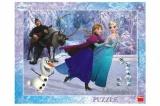 Puzzle Frozen na bruslích