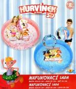 Sada Hurvínek-bazén+kruh+míč
