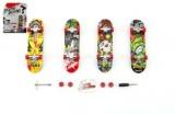 Skateboard prstový plast 10cm