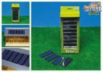 Solární panely 10x4,5cm 8ks