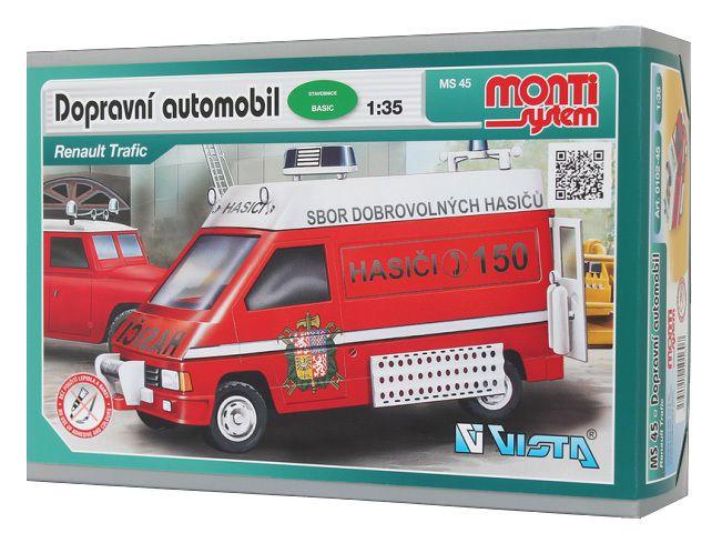 Monti 45 Renault Trafic Fire Brigade