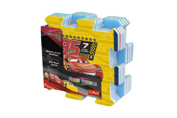 Pěnové puzzle Cars