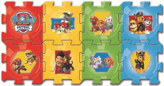 Pěnové puzzle Paw Patrol