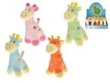 Žirafa 14cm 4barvy 0+