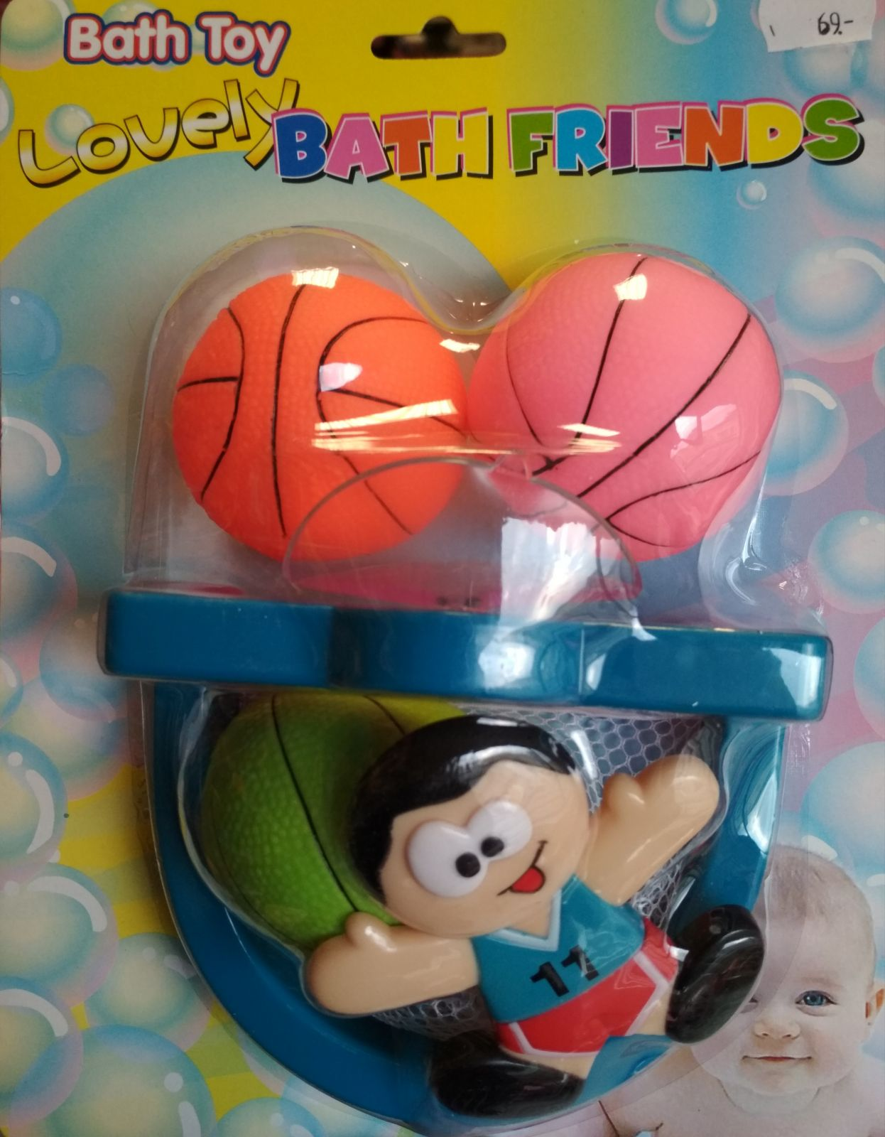 Basketbal do vany
