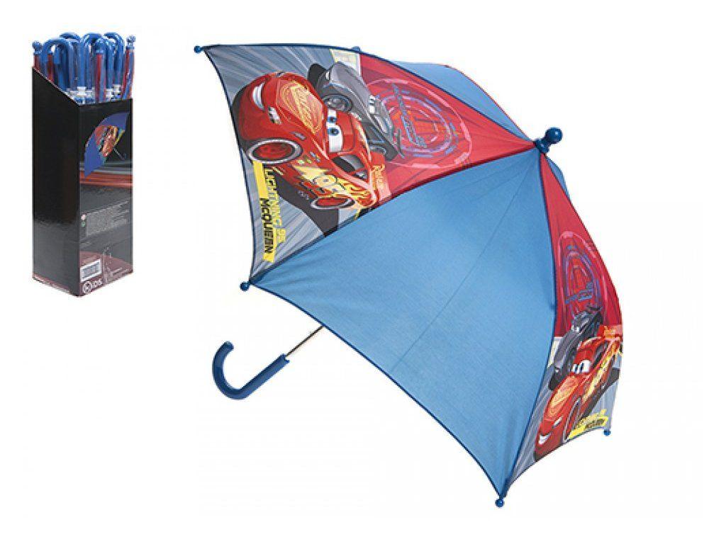 Deštník Cars 3 55cm v sáčku