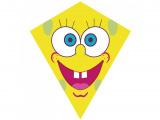 Drak nylon Obličej žlutý70x60