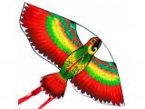 Drak nylon Papoušek 110x50cm